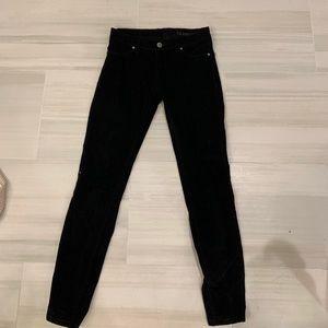Corduroy black blank NYC jeans